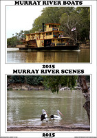 Murray River Boats & River Scenes 2015