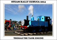 Steam Rally Echuca - 2014 - Thomas Tank Engine