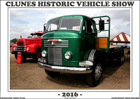 Clunes Historic Vehicle Show 2016
