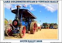 Lake Goldsmith 107th Steam & Vintage Rally 2016