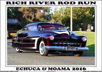 Echuca - Rich River Rod Run - 2016