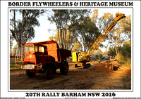 Barham BFC & HM 20th Rally 2016