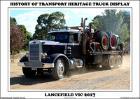 Lancefield History Of Transport Heritage Truck Display 2017