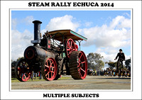 Steam Rally Echuca - 2014 - Multiple Subjects