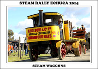 Steam Rally Echuca - 2014 - Steam Waggons