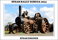 Steam Rally Echuca - 2014 - Steam Engines