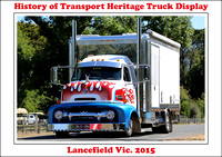 Lancefield Hist. of Transport & Heritage Truck Display 2015