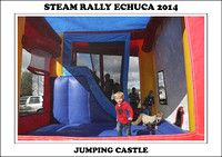 Steam Rally Echuca - 2014 - Jumping Castle