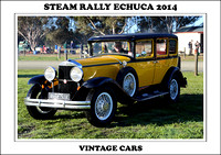 Steam Rally Echuca - 2014 - Vintage Cars