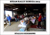 Steam Rally Echuca - 2014 - Stalls & Sideshows