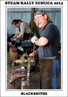 Steam Rally Echuca - 2014 - Blacksmiths