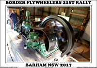Border Flywheelers Barham 21st Rally 2017