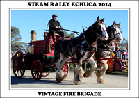 Steam Rally Echuca - Vintage Fire Brigade