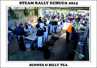 Steam Rally Echuca - 2014 - Scones & Billy Tea