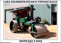 Day 2 - Lake Goldsmith 106th Steam & Vintage Rally
