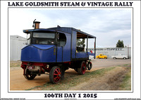 Day 1 - Lake Goldsmith 106th Steam & Vintage Rally