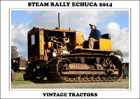 Steam Rally Echuca - 2014 - Vintage Tractors