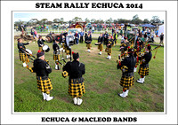 Steam Rally Echuca - 2014 - Echuca & Macleod Bands