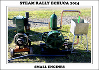 Steam Rally Echuca - 2014 - Small Engines