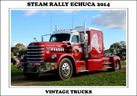 Steam Rally Echuca - 2014 - Vintage Trucks
