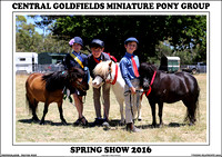 Central Goldfields Mini. Pony Spring 2016